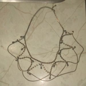 Jewelry - Vintage Silver Choker 16in Long